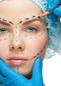 arcplasztika után